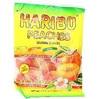 12 Pk.Haribo Gummi Peaches Candy