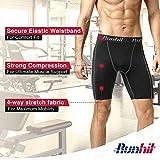 Runhit Men's Compression Shorts,Spandex Compression