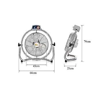 Sunny Ventilador Industrial de Piso de Alta Velocidad, Ventilador Turbo, Ventilador de Mesa,