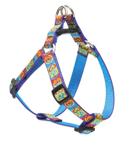 "LupinePet 3/4"" Peace Pup 20-30 Step In Dog Harness"