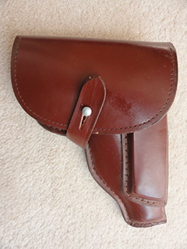 Original East German PPK holster(.32 caliber)- Leather made surplus not China. Will fit .32 Mauser, Colt, and Cz27