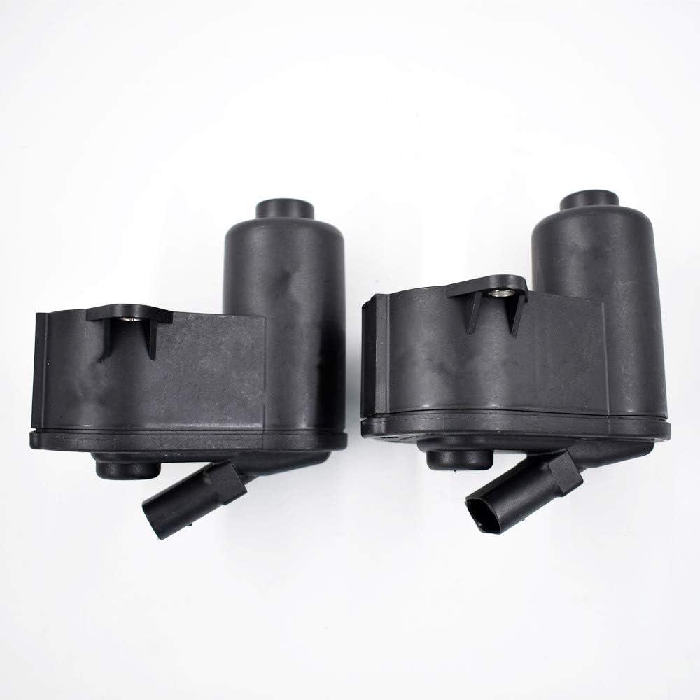 labwork 2pcs Rear L+R Brake Servo Motor 6 Torx 3C0998281B for Audi Q3 VW Tiguan Passat B6 B7 CC