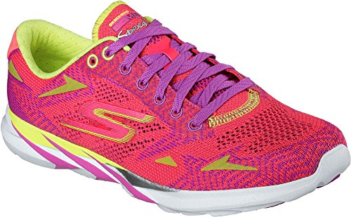 Skechers Damen Go Meb Speed 3 2016 Sneakers Rosa
