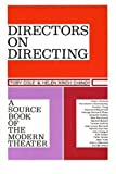 img - for Directors on Directing: A Source Book of the Modern Theatre by Toby Cole (1963-01-11) book / textbook / text book