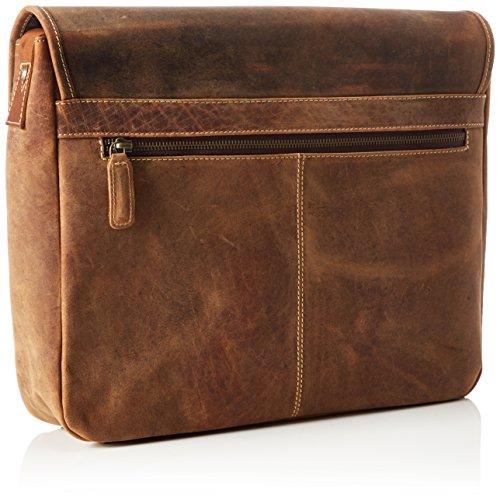 in Cm Cognac Circa Manchester Borsa Tyler vintage 29 9 pelle X Buffalo 37 James 4Tqt1w