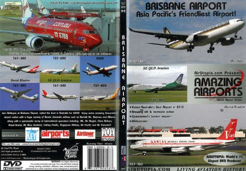 Brisbane International Airport Australia Dvd 60 - Shops Brisbane Airport