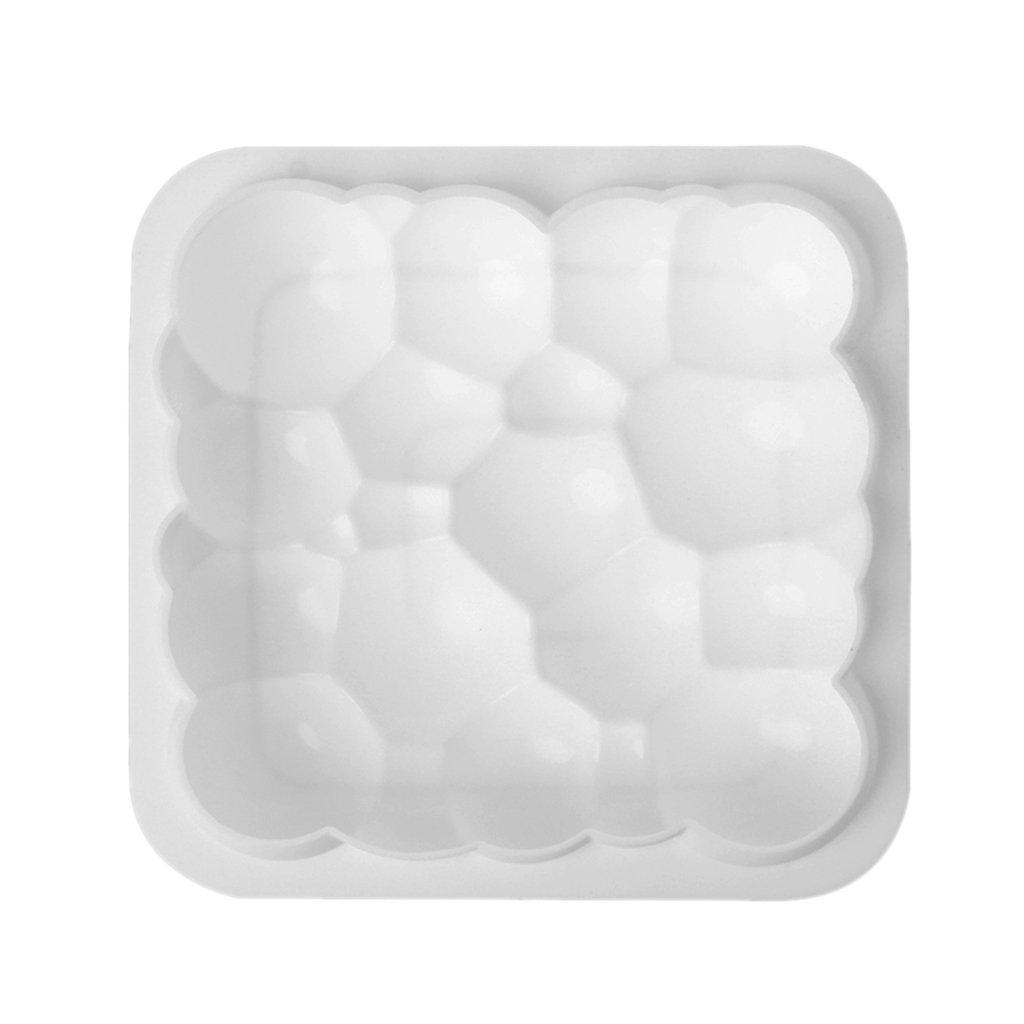 Molde de silicona para tartas Chuhe - Molde para hornear con burbujas Sky Cloud para pasteles de gasa Mousse: Amazon.es: Hogar