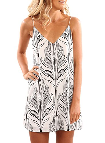 Sidefeel Women Halter Printed Casual product image