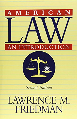 American Law: An Introduction (Revised Second Edition)