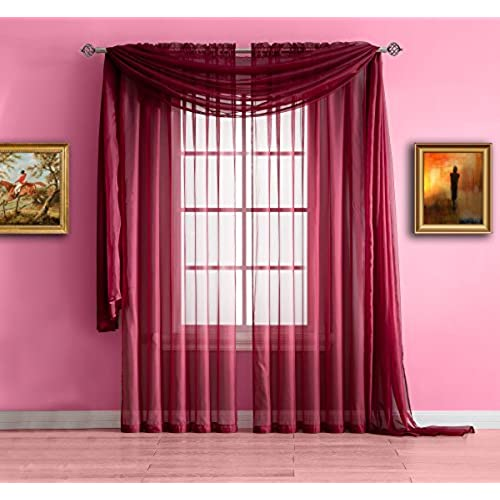 Modern Sheer Curtains: Amazon.com