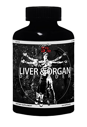 Rich Piana 5% Nutrition Liver & Organ Defender, 270 (Organ Shield)