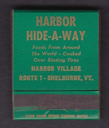 - Harbor Hide-A-Way Harbor Village Shelburne VT matchbook