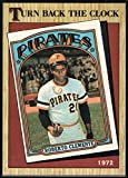 1987 Topps #313 Roberto Clemente Pirates TBC