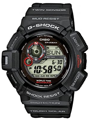 Casio G Shock Mudman Digital Dial Men's Watch - G9300-1 [Watch] Casio