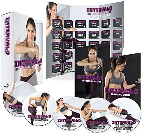 INTERVALO Exercise Training Calendar Nutrition product image