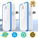 Ultrasonic Pest Repeller (2 Pack) Pest Reject Electronic Plug in-Pest Control- Best Repellent to get rid of Rodents, Insects & Bugs: Mice Rat Roach Ant Fruit Fly Fleas Mosquito Spider & Bedbug