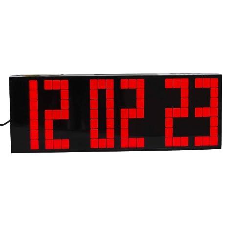 Grande de la Alarma LED Reloj de Pared Control Remoto Digital Tabla del Escritorio del Reloj