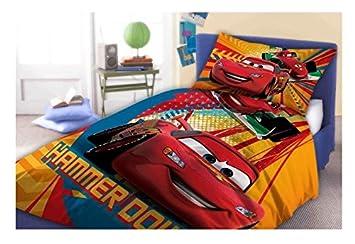 Maxi&Mini - CARS FLASH McQUEEN LINGE PARURE DE LIT - HOUSSE DE ... on