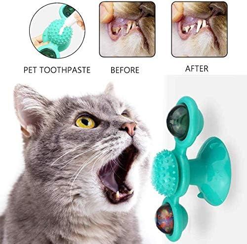 Xianshiyan Gato Mint Ball Pet Molar Dientes Gato Bola de Hierba Mascota Gato Juguete Suministros