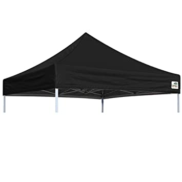 Pop Up Canopy Top Gazebo Tent Cover Replacement Only Black 8x8 Feet