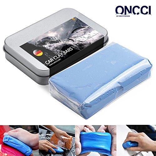 oncci Lavado plastilina barniz limpiador de suave reinigun gsknete para Auto Moto y caravanas Azul 100 g
