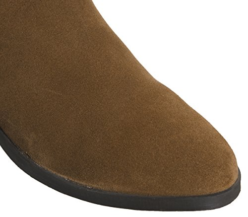 Slouch Suede Dark Office Kove Flat Tan Boots q4wWpHaB
