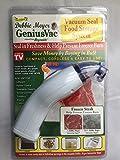 reynolds handy vac bags - Debbie Meyer GeniusVac Vacuum Seal Food Storage System with 3 Bags