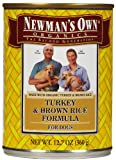 Newman's Own Organics Canned Dog Food Turkey & Rice 12.7 oz Case 12