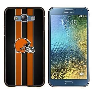 Stuss Case / Funda Carcasa protectora - Casco de fútbol americano - Samsung Galaxy E7 E700
