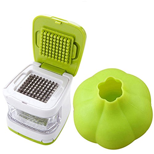 Condello Casa Kitchen Aid Stainless Steel Ginger Garlic Press Cube and...