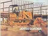 1977 John Deere JD555 Crawler Loader Tractor Brochure
