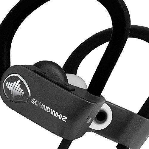 565fea176a0 in Ear Bluetooth Earphones - SoundWhiz Wireless Earbuds - w Noise Cancelling  Mic & Siri.