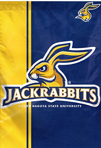WinCraft South Dakota State Jackrabbits Vertical Flag 28 x 40 inches 1 sided print