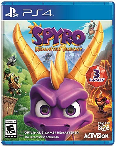 Amazon com: Spyro Reignited Trilogy - PlayStation 4: Activision Inc