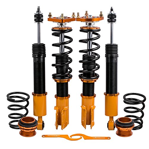 4PCS/Set Coilovers Struts for Ford Mustang 4th Gen. 1994-2004 Suspension Spring Shock Absorber Adj. Height & ()
