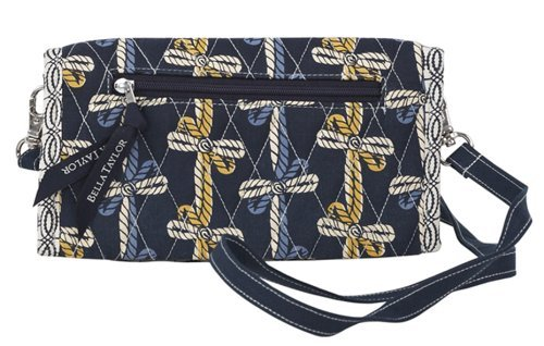 Bella Taylor American Charm Quilted TriFold Wallet ()