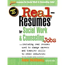 Real-Resumes for Social Work & Counseling Jobs