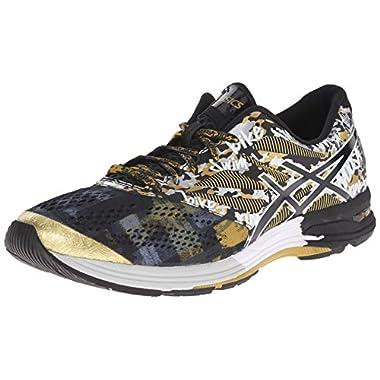 newest collection 82515 f1cc6 ... official asics mens gel noosa tri 10 gr running shoe black onyx gold  ribbon 6b685 950df ...