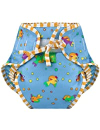 Kushies Baby Unisex Swim Diaper - X-Large,Goldfish Print,X-Large,