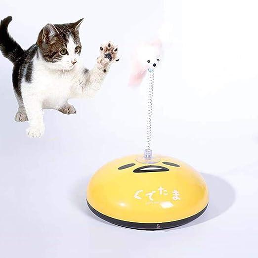 FUFU 2-en-1 Barrido del Gato Robot de Juguete Interactivo ...