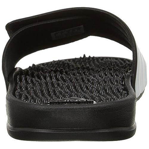 4b40676a9ad4 Adidas Performance Men s Adissage 2.0 Stripes Athletic Sandal 85%OFF ...