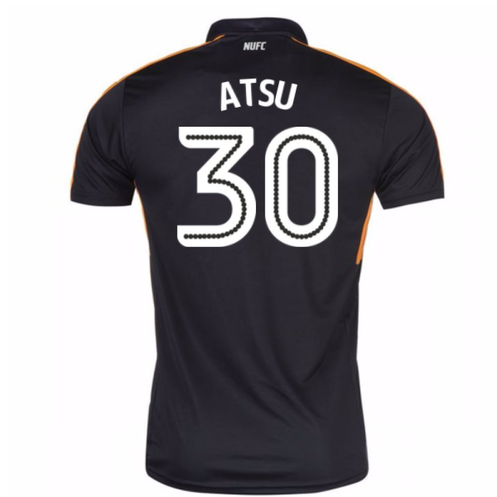 2016-17 Newcastle Away Football Soccer T-Shirt Trikot (Christian Atsu 30) - Kids
