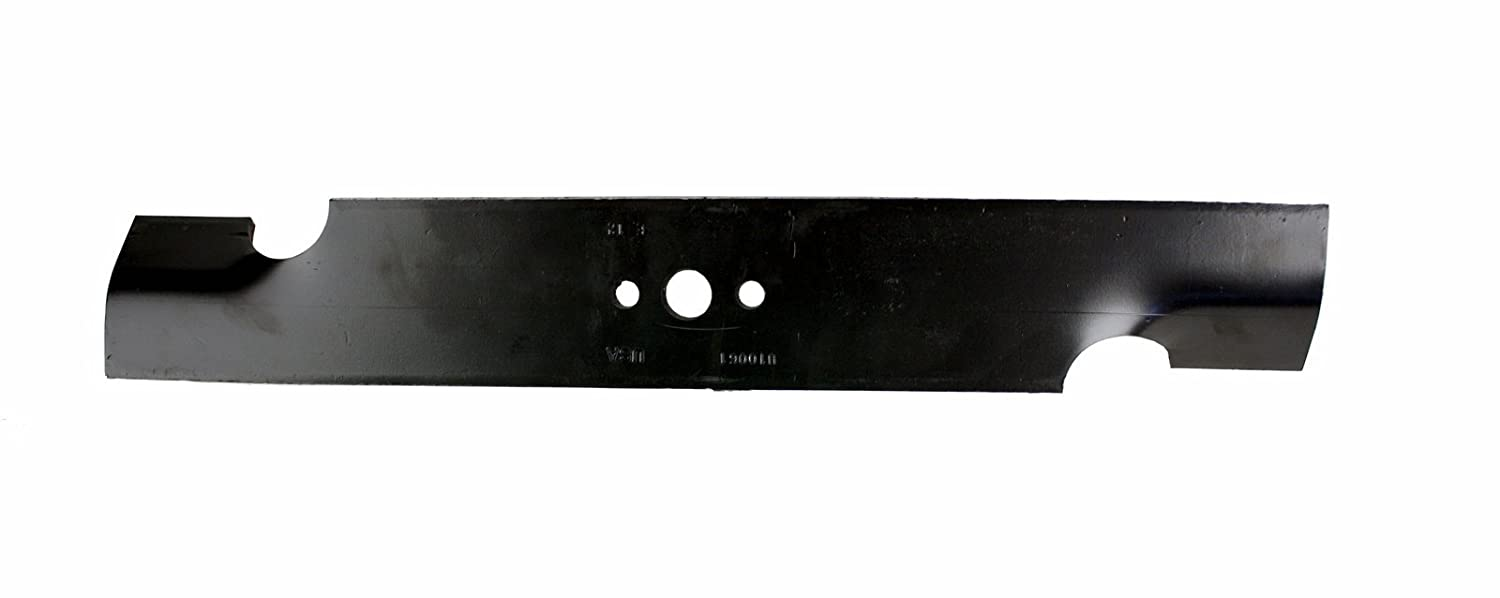 USA Mower Blades U10061BP (3) Standard High-Lift for Snapper Pro 5020843 Giant Vac 0640 Length 16-1/4in. Width 2-1/2in. Thickness .250in. Center Hole ...