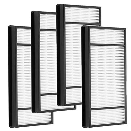 Eagles 4pack Replacement HEPA Filter Compatible with Honeywell Air Purifier HRF-H2 H Type,fit for Model HPA050, HPA150, HPA060, HPA160, HHT055 and HHT155 (Best Type Of Air Purifier)