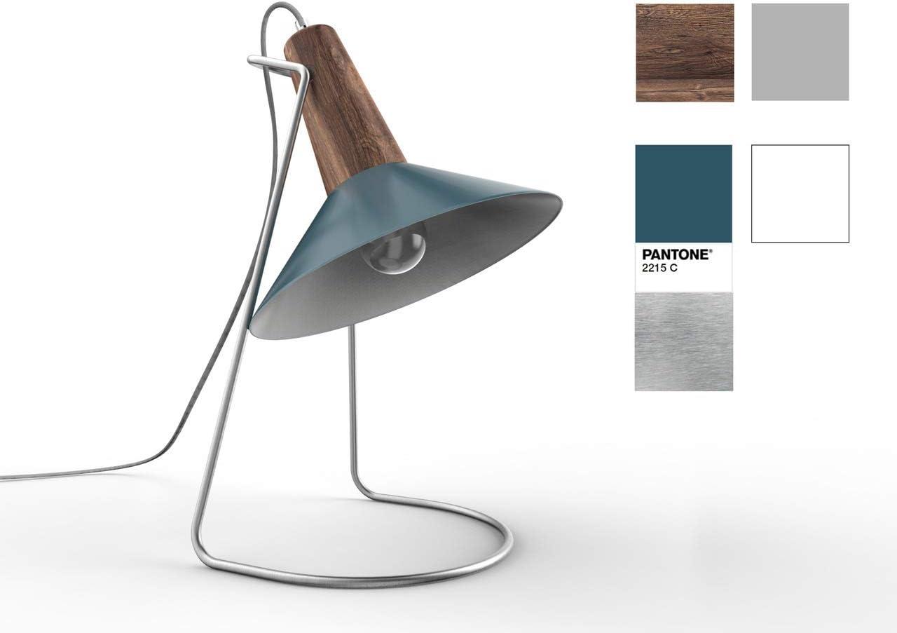 Fisura - Lámpara Yeye de Escritorio y Mesa. 38,50x20 cm. Tulipa y ...