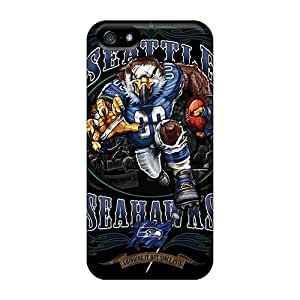 New Tpu Hard Cases Premium Iphone 5/5s Skin Cases Covers(seattle Seahawks)