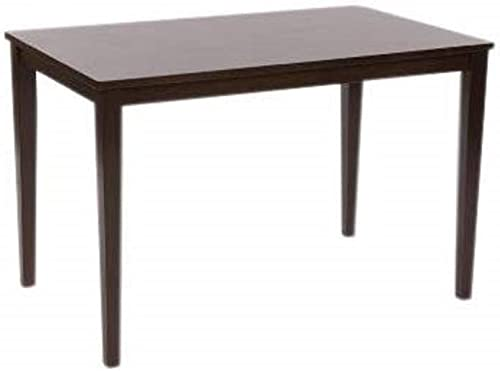 Target Marketing Systems Shaker Collection Contemporary Rectangle Dining Table Sized