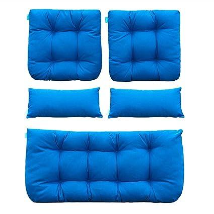 Amazon.com: QILLOWAY - Cojines de mimbre para asiento de ...