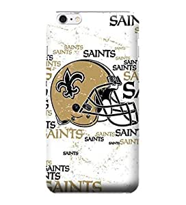 iPhone 6 Cases, NFL - New Orleans Saints - Blast - iPhone 6 Cases - High Quality PC Case