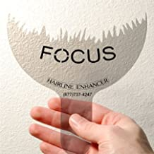 Focus Hairline Enhancer to Enhance the Natural Appearance of All Brands Hair Building Fibers to Cover Hair Loss and Thinning Hair in the Frontal Areas